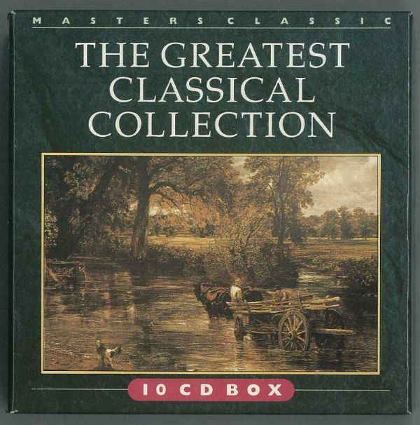 MASTERS CLASSIC - THE GREATEST CLASSICAL COLLECTION ( 10 DISC BOXSET) USED